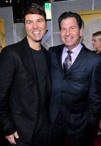 Mark Steven Johnson and Gary Foster at the California premiere of