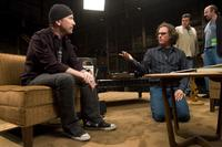 The Edge and Davis Guggenheim in