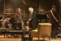 Jack White, Davis Guggenheim, Jimmy Page and The Edge in