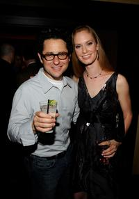 Director JJ Abrams and Sabrina Morris at the after party of the California premiere of