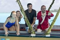 Malin Akerman as Ronnie, Kristen Bell as Cynthia, Jason Bateman as Jason and Jean Reno as Monsieur Marcel in
