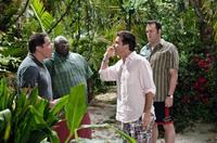 Jon Favreau as Joey, Faizon Love as Shane, Jason Bateman as Jason and Vince Vaughn as Dave in