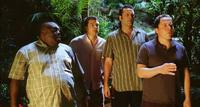 Faizon Love as Shane, Jason Bateman as Jason, Vince Vaughn as Dave and Jon Favreau as Joey in