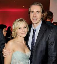Kristen Bell and Dax Shepard at the after party of the California premiere of