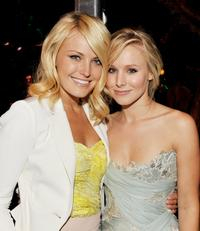 Malin Akerman and Kristen Bell at the after party of the California premiere of