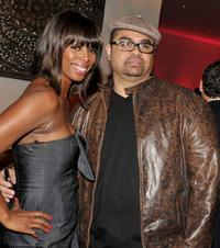 Tasha Smith and Heavy D at the after party of the California premiere of