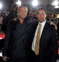 Vince Vaughn and Producer Scott Stuber at the California premiere of