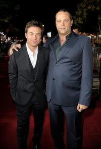 Jason Bateman and Vince Vaughn at the California premiere of