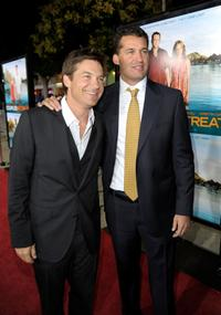 Jason Bateman and Producer Scott Stuber at the California premiere of