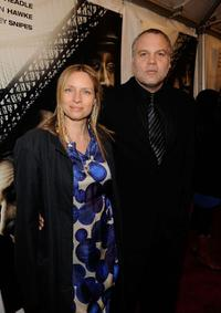 Carin van der Donk and Vincent D'Onofrio at the New York premiere of