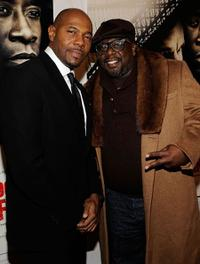 Antoine Fuqua and Cedric the Entertainer at the New York premiere of