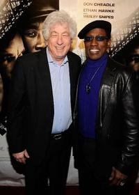 Avi Lerner and Wesley Snipes at the New York premiere of