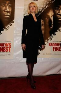 Ellen Barkin at the New York premiere of