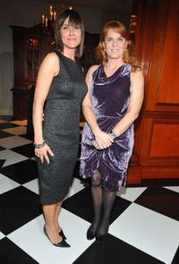 Julie Lloyd and Sarah Ferguson at the after party of the California premiere of