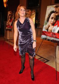 Sarah Ferguson at the California premiere of