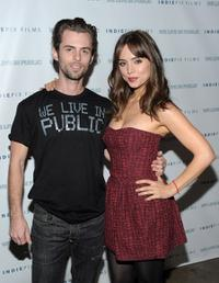 Nate Dushku and Eliza Dushku at the California premiere of