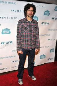 Adrian Grenier at the New York premiere of