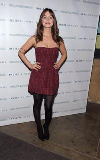 Eliza Dushku at the California premiere of