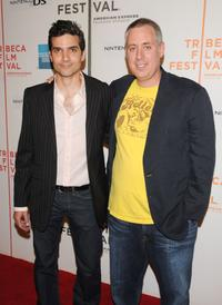 David Levien and Brian Koppelman at the New York premiere of