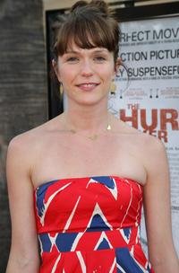 Kathryn Aselton at the California premiere of