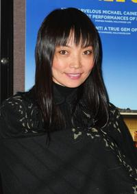 Irina Pantaeva at the New York premiere of