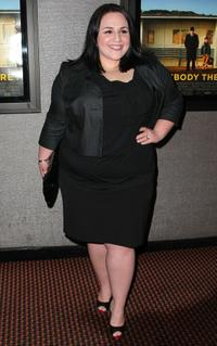 Nikki Blonsky at the New York premiere of