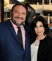 Joel Silver and Sue Kroll at the California premiere of