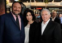 Joel Silver, Sue Kroll and Dan Fellman at the California premiere of