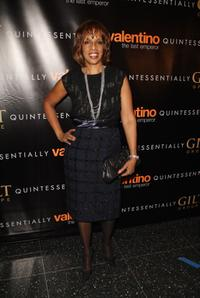 Gayle King at the New York premiere of
