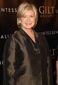 Martha Stewart at the New York premiere of