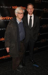 Al Maysles and Director Matt Tyrnauer at the New York premiere of