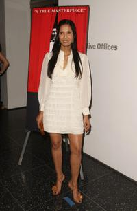 Padma Lakshmi at the New York premiere of