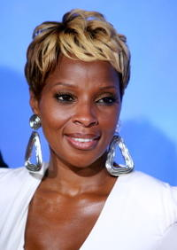 Mary J. Blige at the New York premiere of