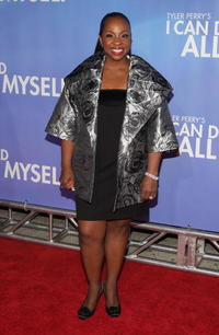 Gladys Knight at the New York premiere of