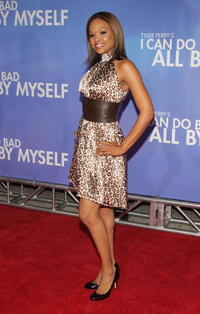 Demetria McKinney at the New York premiere of