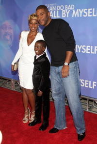 Mary J. Blige, Kwesi Boakye and Tyler Perry at the New York premiere of