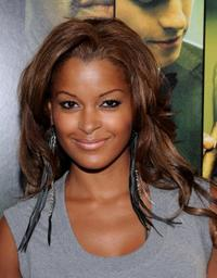 Claudia Jordan at the California premiere of