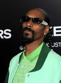 Snoop Dogg at the California premiere of
