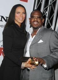 Martin Lawrence and Guest at the California premiere of