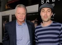 Jon Voight and James Haven at the California premiere of