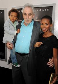 Phillip Noyce and his Family at the California premiere of