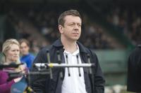 Executive Producer Peter Morgan on the set of