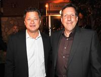 Michael Rotenberg and John Altschuler at the after party of the California premiere of