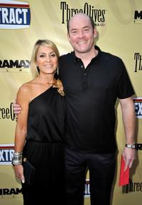 Leigh Koechner and David Koechner at the California premiere of