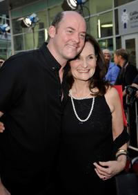 David Koechner and Beth Grant at the California premiere of
