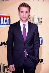 Dustin Milligan at the California premiere of