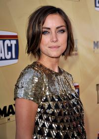 Jessica Stroup at the California premiere of