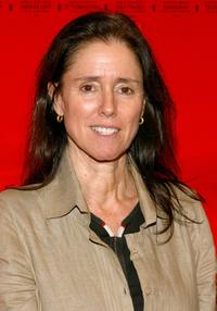 Director Julie Taymor at the New York premiere of