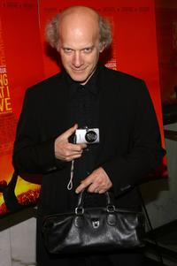 Timothy Greenfield-Sanders at the New York premiere of