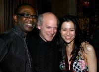 Youssou N'dour, Timothy Greenfield-Sanders and Director Elizabeth Chai Vasarhelyi at the after party of the New York premiere of